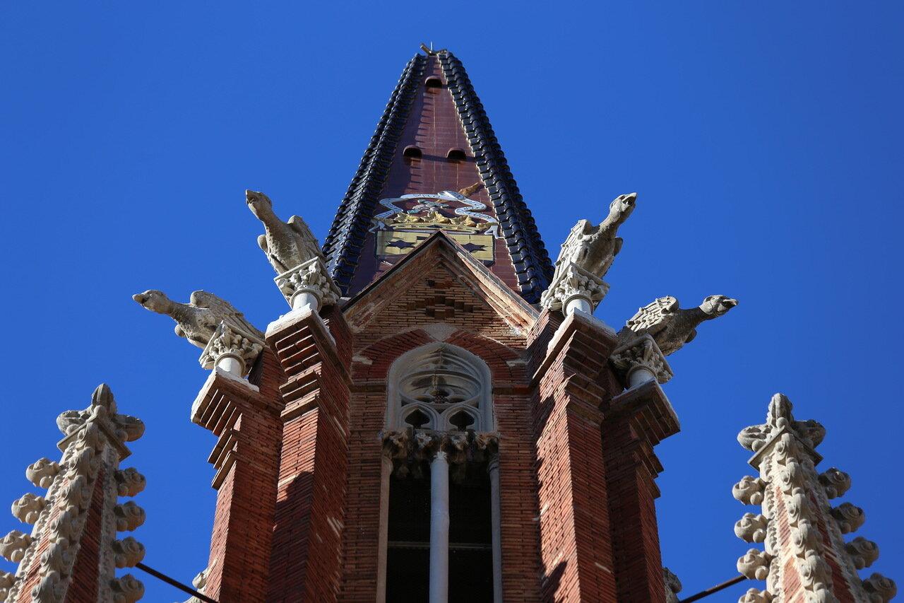 Tarragona. The monastery of the Carmelites. Carmelites Convent dels Pares
