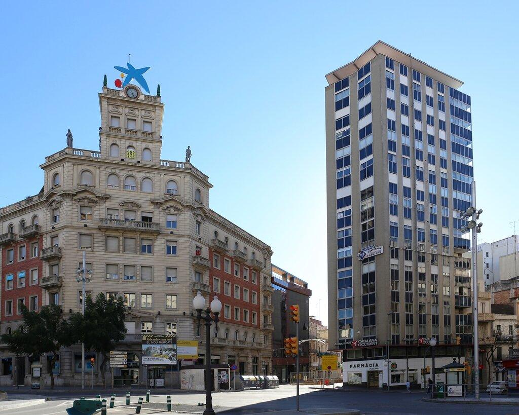 Таррагона, Здание Пенсионной кассы.  La Caixa. Tarragona