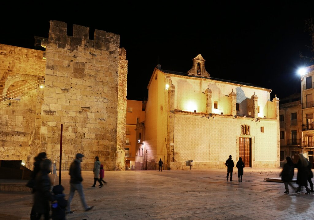Таррагона. Старый город. Площадь перед Преторием Пилата.