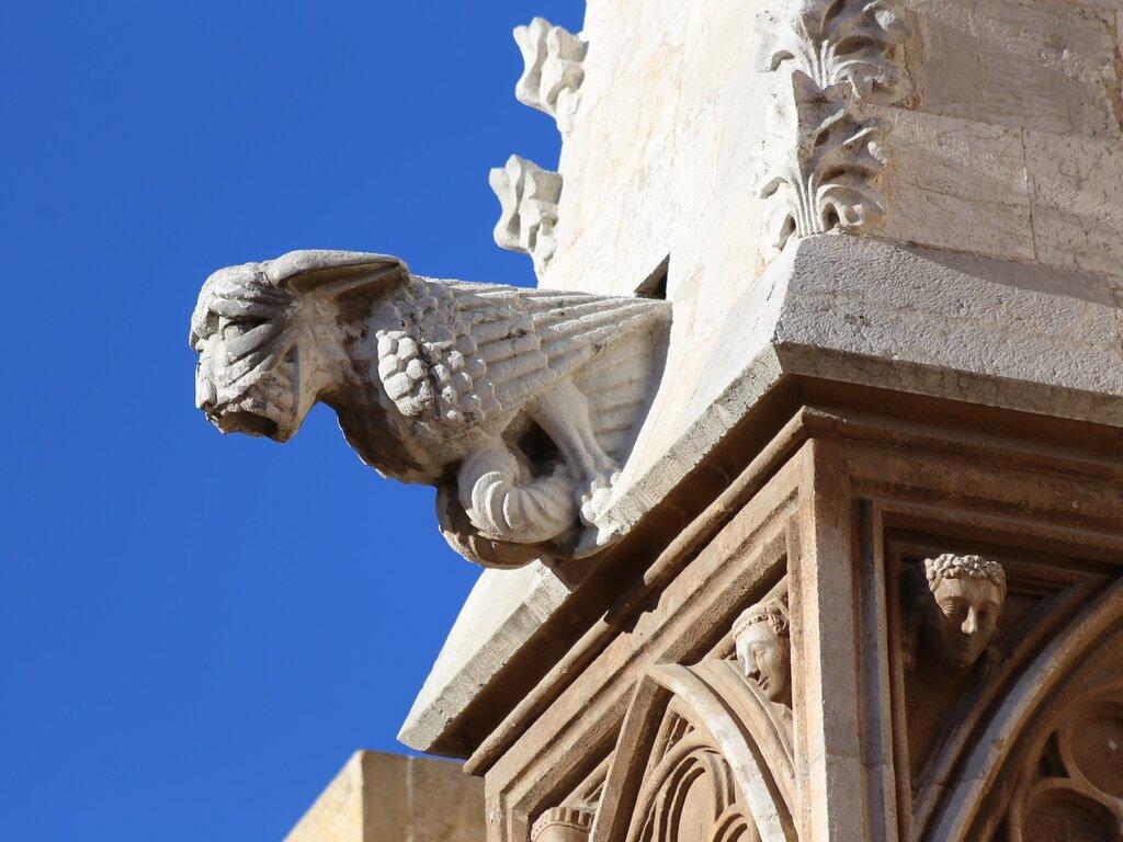 Таррагона Кафедральный собор. Гаргулья