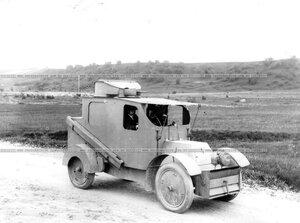 Бронированный автомобиль батальона.