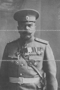 Генерал-майор бригады в походном кителе (портрет).