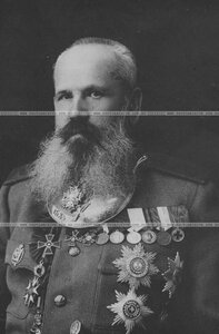 Генерал бригады в повседневной форме (портрет).