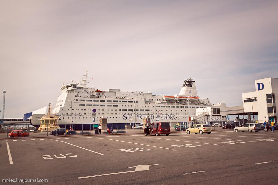 Эстония, Таллин, порт Таллина