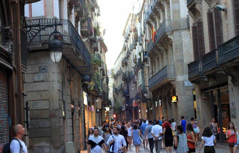 Барселона. Готический квартал (Barcelona. Gothic Quarter)