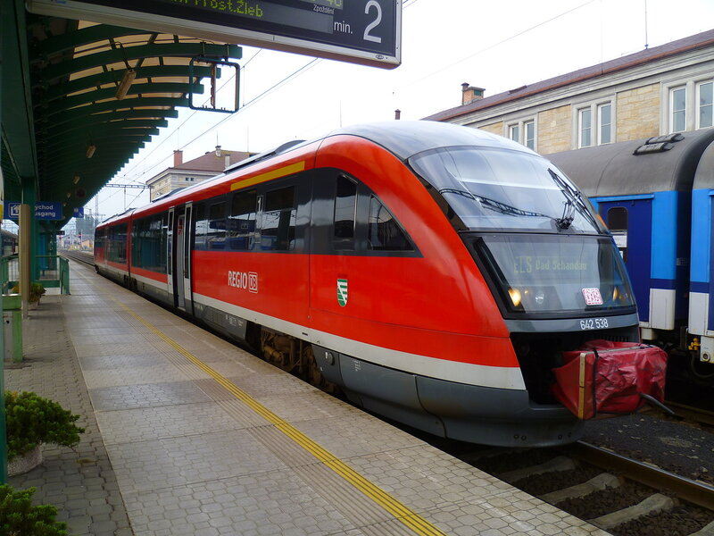 Поезд в Германии (Train in Germany)