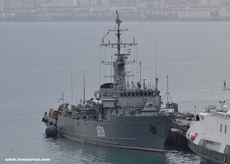 «Ви́це-адмира́л Заха́рьин» — морской тральщик проекта 02668