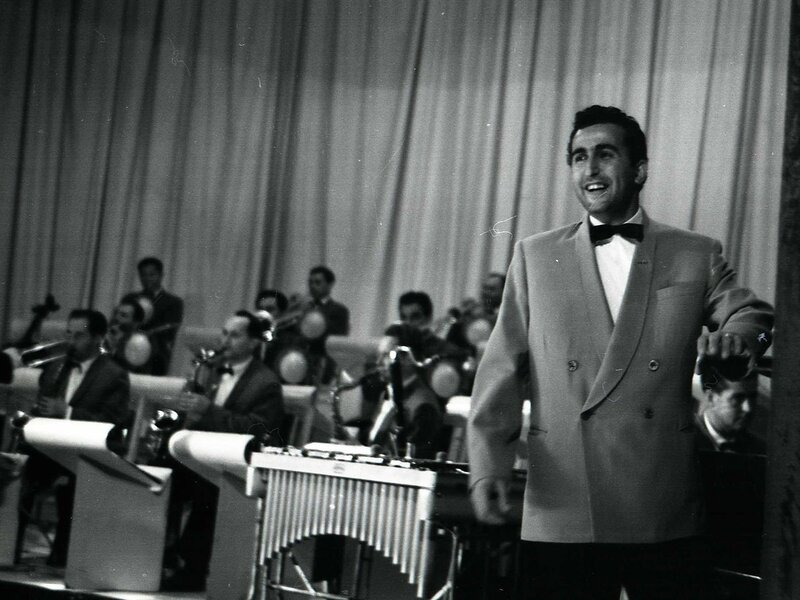 Гастроли оркестра под управлением Лундстрема в Челябинске. 1958 год