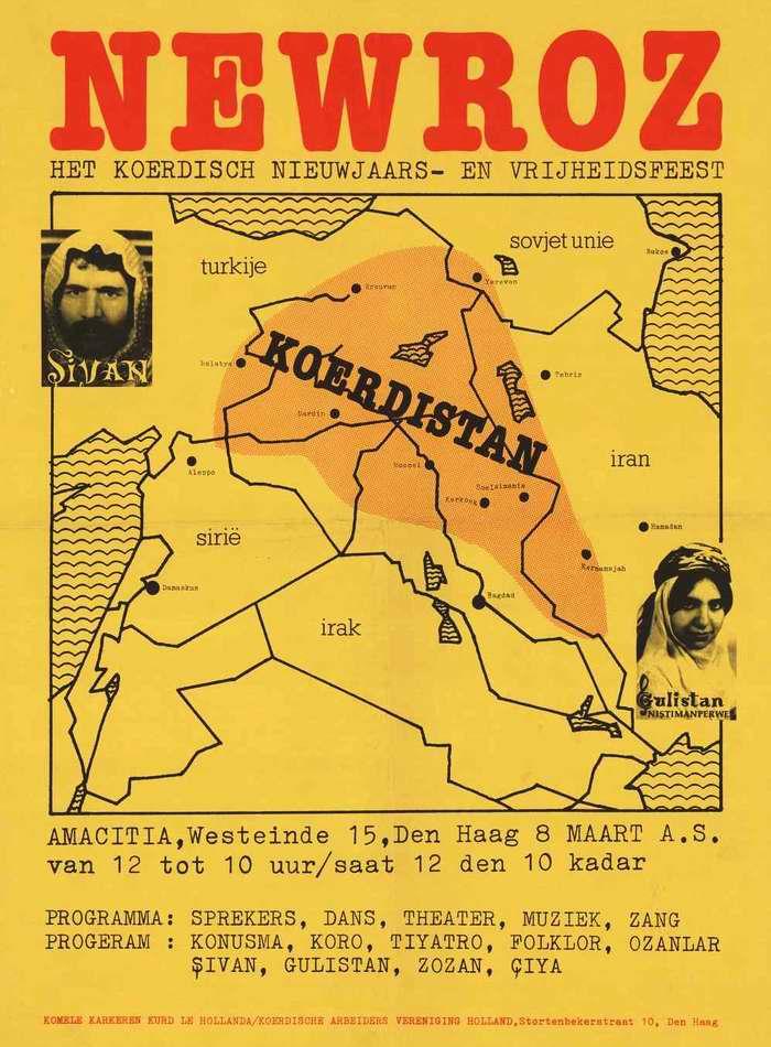 Навруз. Празднование курдского Нового года - Приглашение для посещения культурной программы в Нидерландах