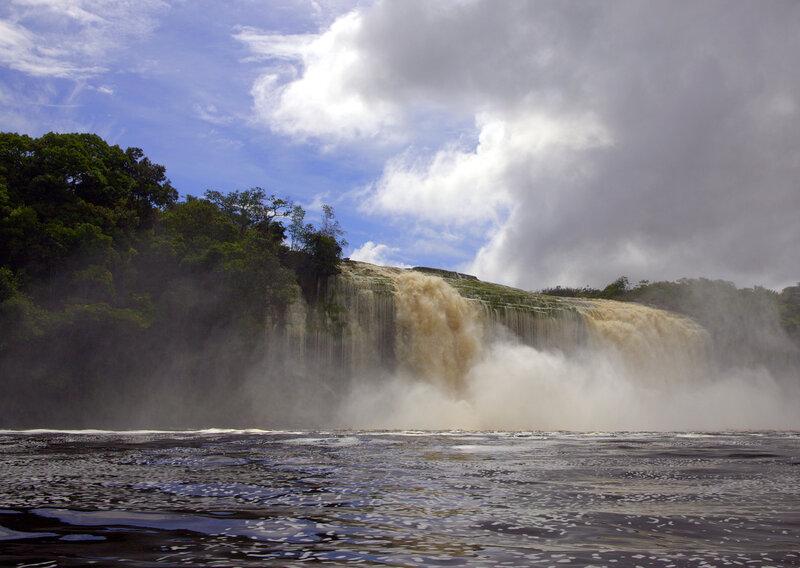 Водопад Ача во всей красе