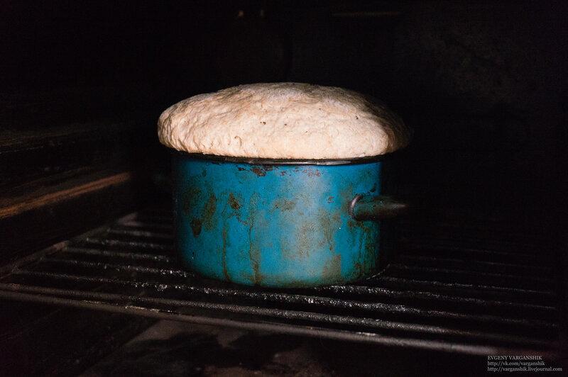 Живой домашний хлеб на ржаной натуральной закваске от Варганчика