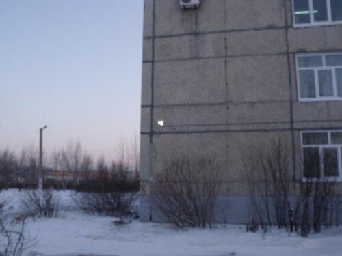 освещение у школы 32 в Уссурийске на междуречье