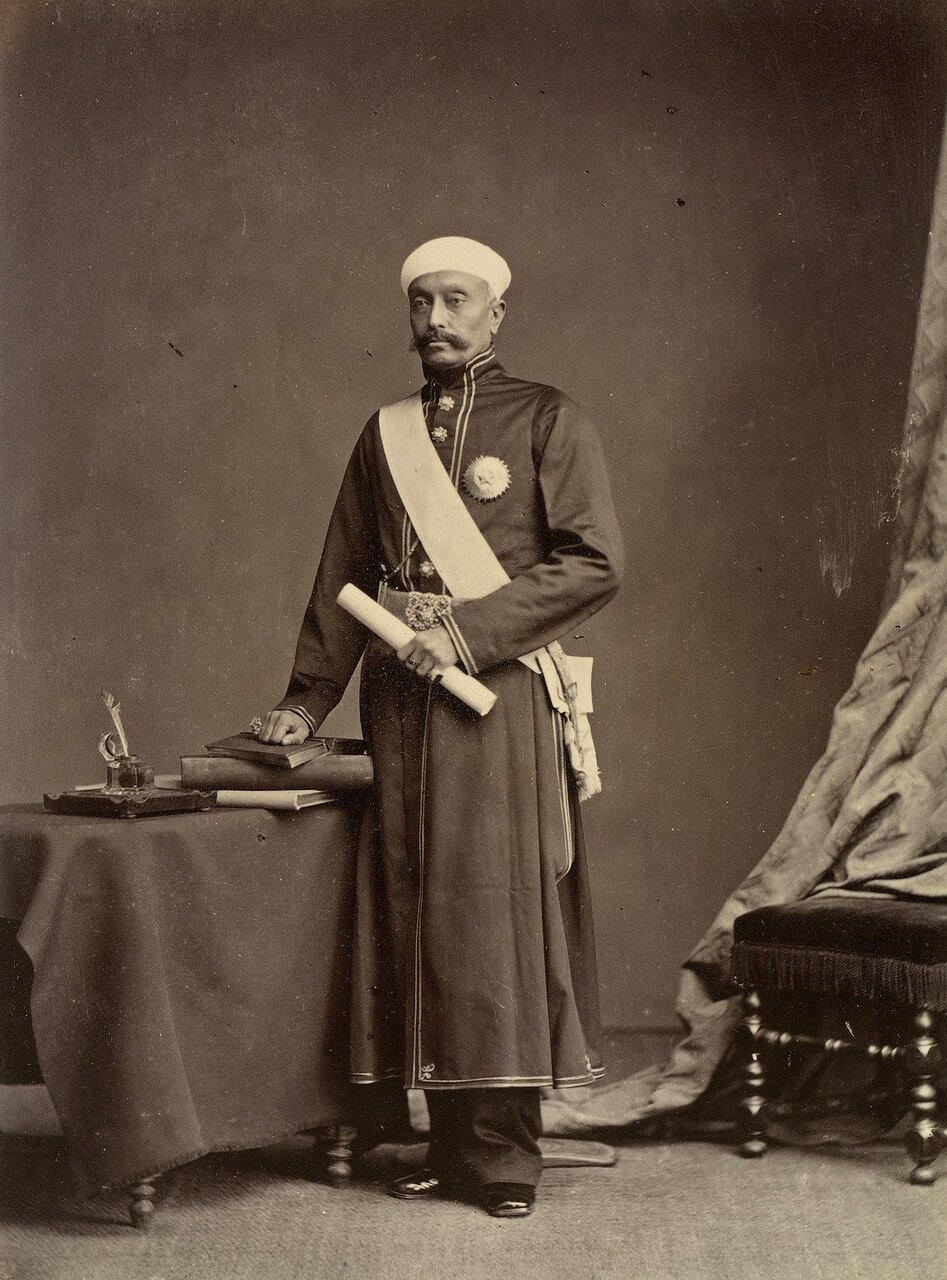 131. Мир Тараб Али Хан, Салар Джунг I (1829-83)