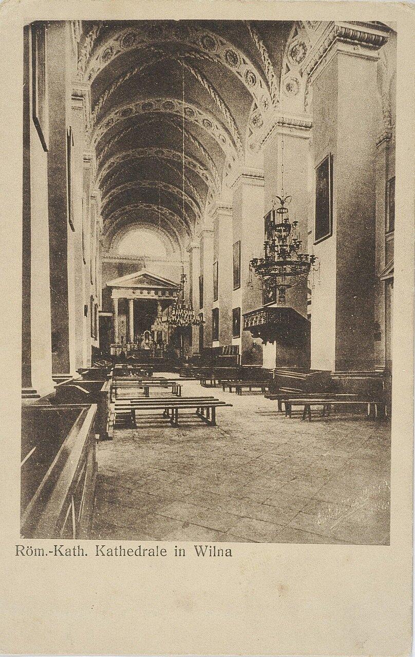 Интерьер Римско-католического собора