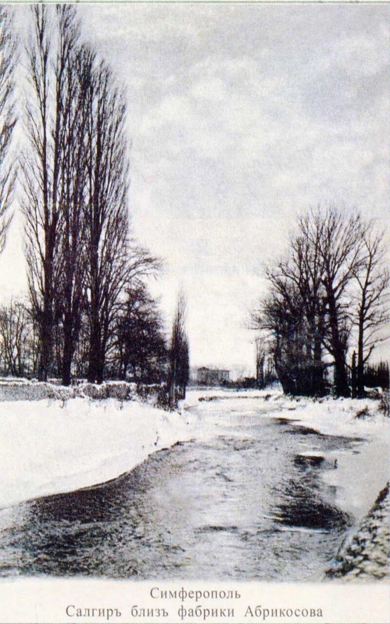 Окрестности Симферополя. Салгир возле фабрики Абрикосова