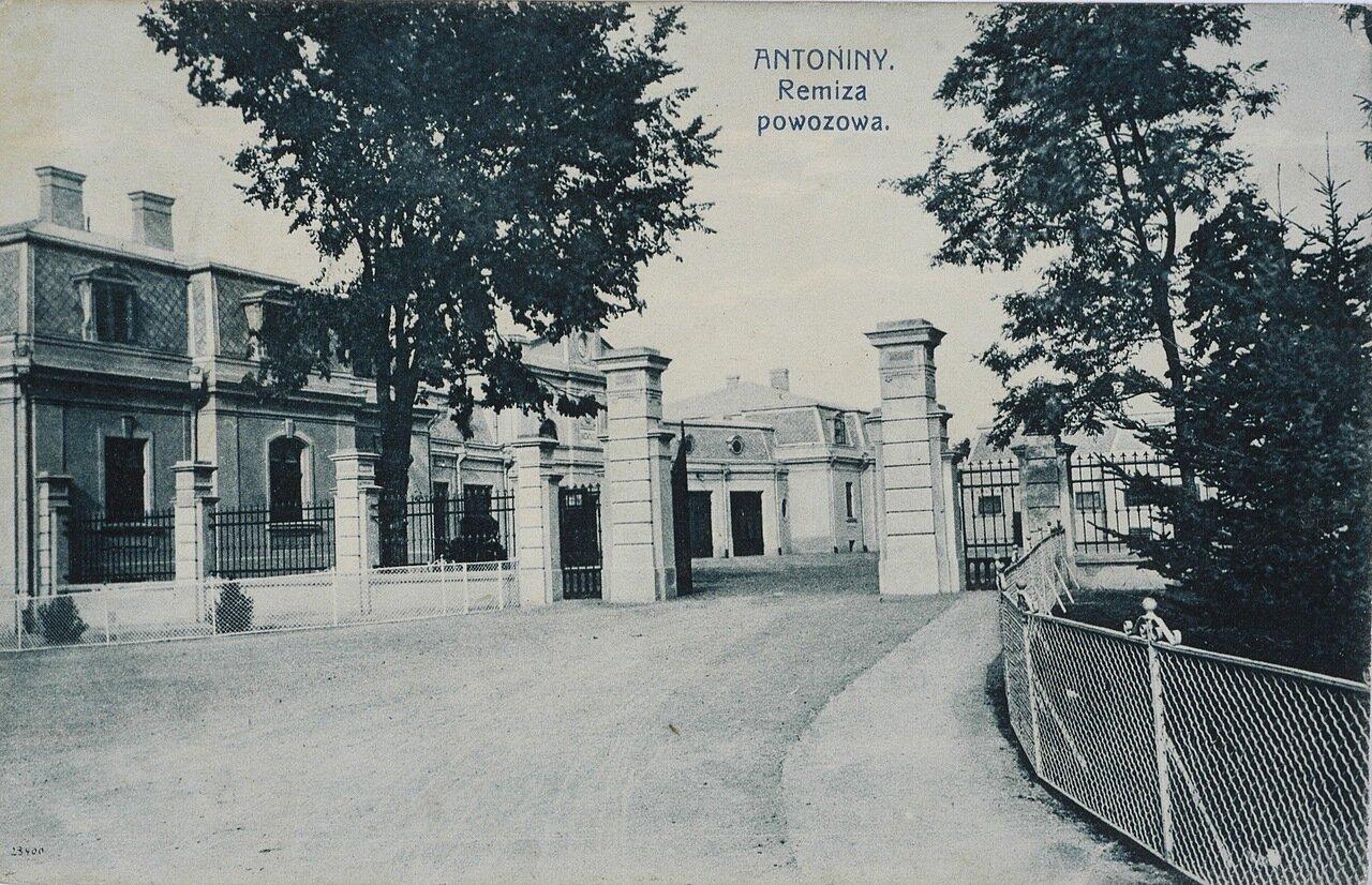 Возивня дворца графов Потоцких