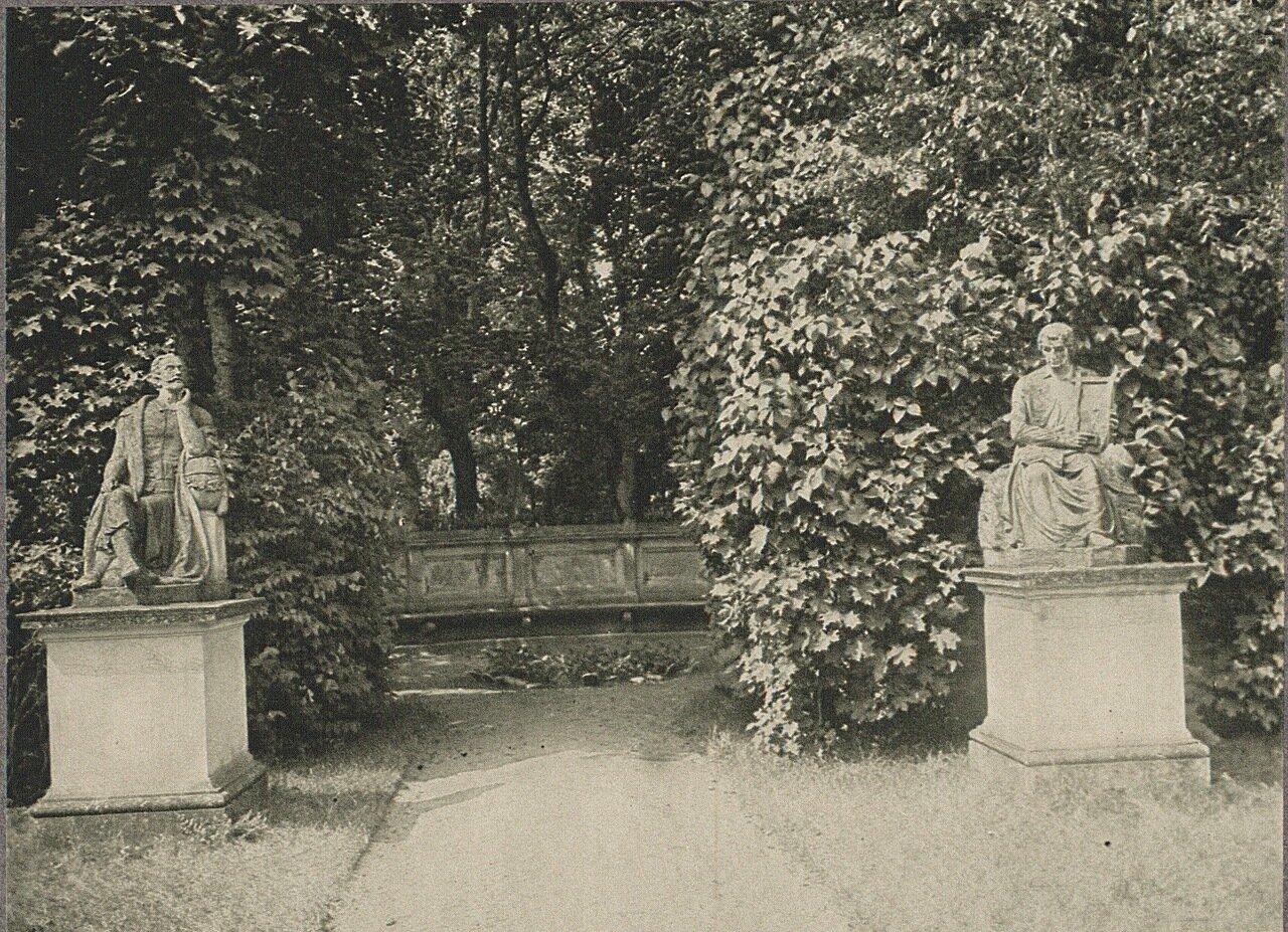 Вилянувский дворец. Парк