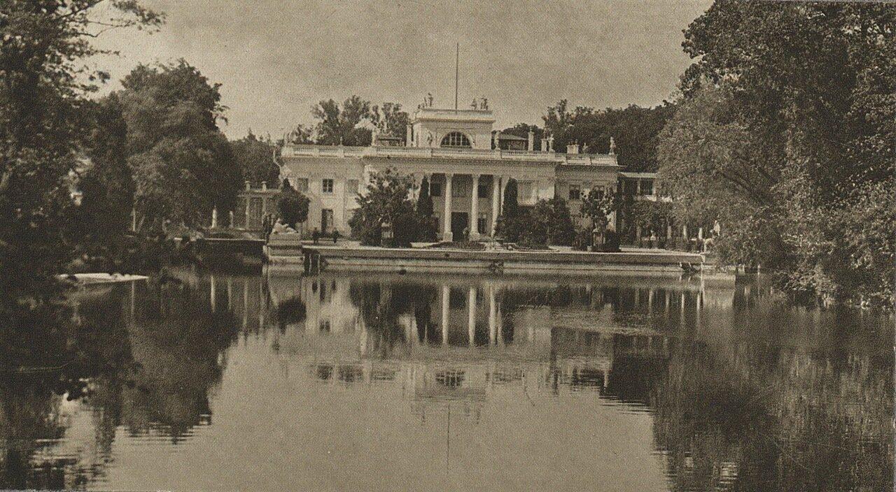 Лазенковский дворец. Общий вид