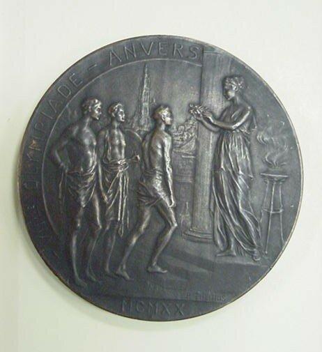 Олимпийская медаль. Серебро