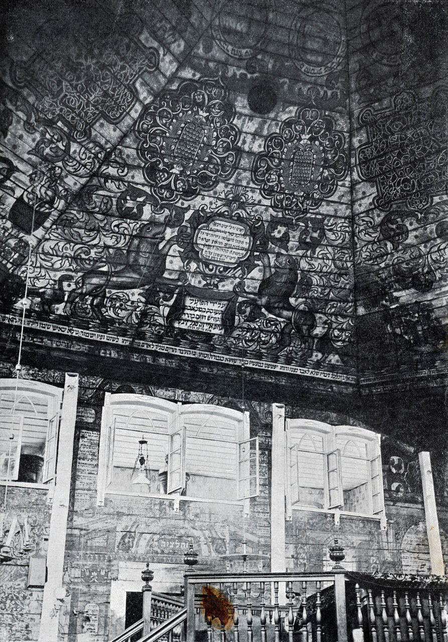 Холодная синагога. Интерьер