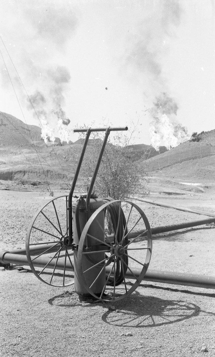 34. Нефтяная промышленность в Иране, 1958