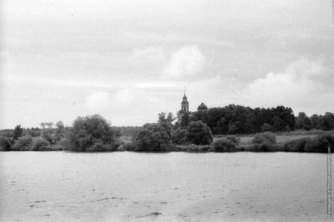 Тверская область, Кимрский район, село Белое. Церковь Николая Чудотворца.