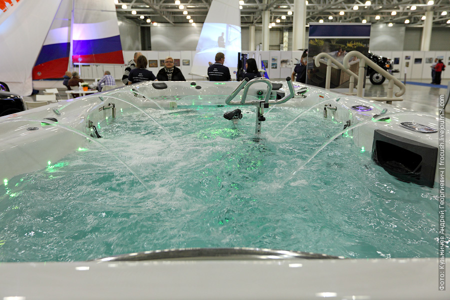 Выставка катеров и яхт Московское Боут Шоу в Крокус Экспо