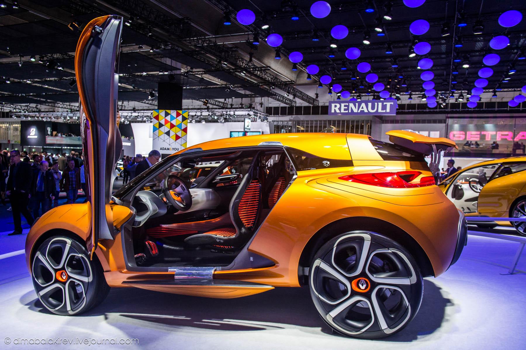 Дизайн Renault