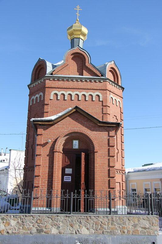 Часовня Иверской иконы Божией Матери, Омск
