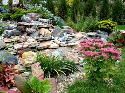 Как сделать камни элементом украшения садового участка
