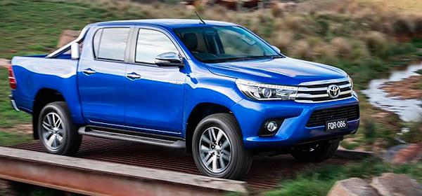 Toyota разработала новое поколение модели Hilux