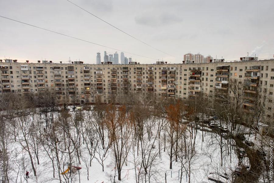 фотография круглого дома в Москве
