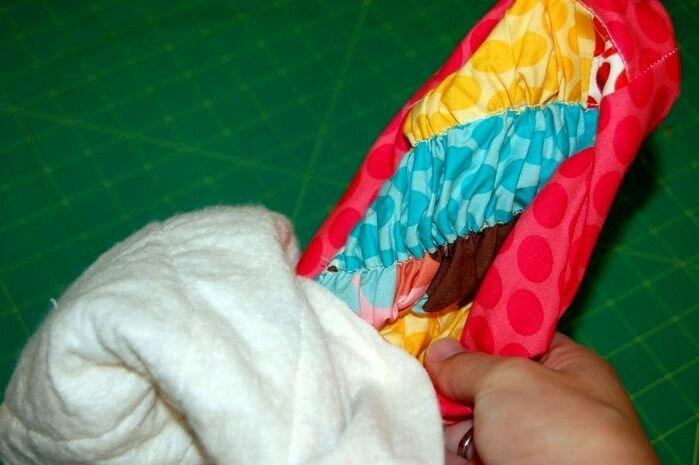 Как сшить красивую пышную подушку