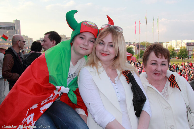 Беларусь мая синявокая!