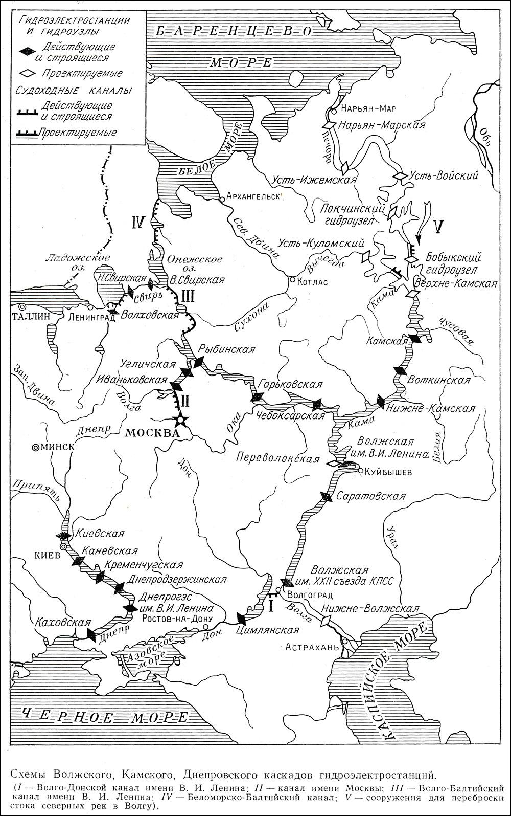 Проекты развития ЕГС в 1960-е гг.