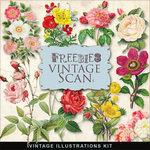 Vintage Flowerskit