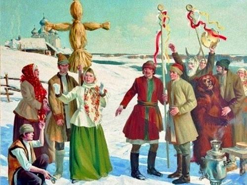 Масленица - проводы русской зимы открытки фото рисунки картинки поздравления