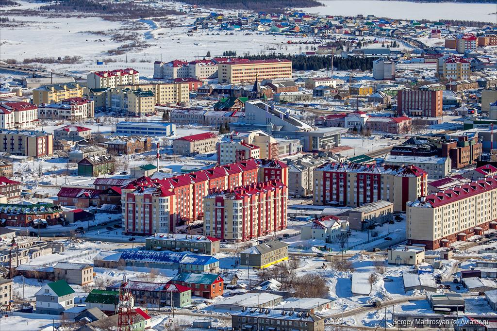 полярный город фото