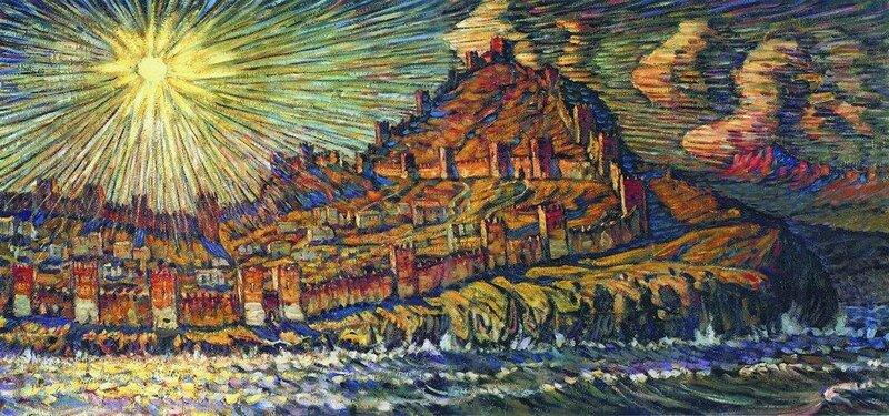 Генуэзская крепость. 1907.jpg