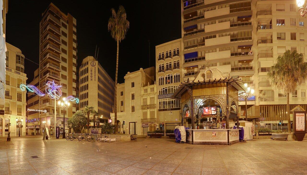 Castellon de la Plana, Plaza La Paz