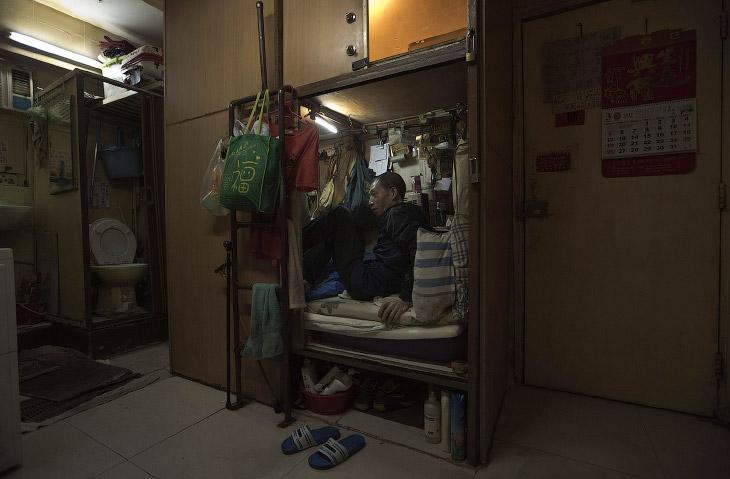 Дома-гробы из Гонконга (17 фото)