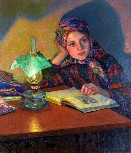 Богданов-Бельский Николай Петрович (1868-1945). Вдохновение