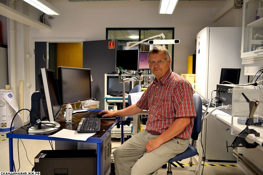 Инновации по-норвежски: профессор Ханс Торп и его лаборатория ультразвука
