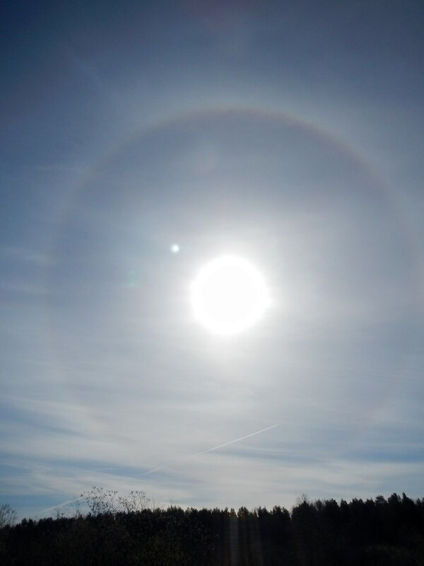 Гало вокруг солнца