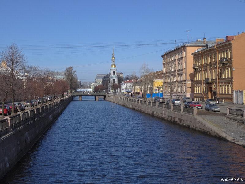 Крюков канал и колокольня Никольского собора.