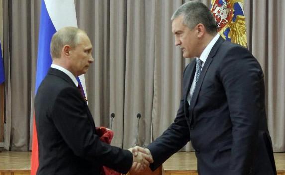 Путин должен быть президентом пожизненно — Аксёнов