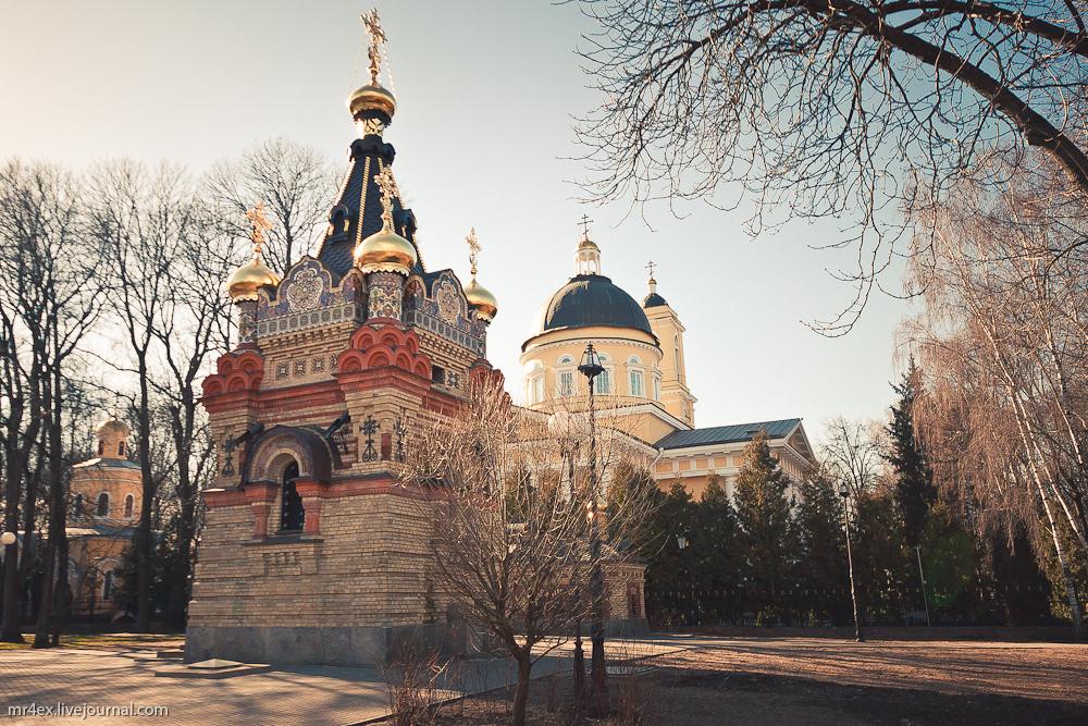 Гомель, Петропавловский собор, часовня-усыпальница Паскевичей