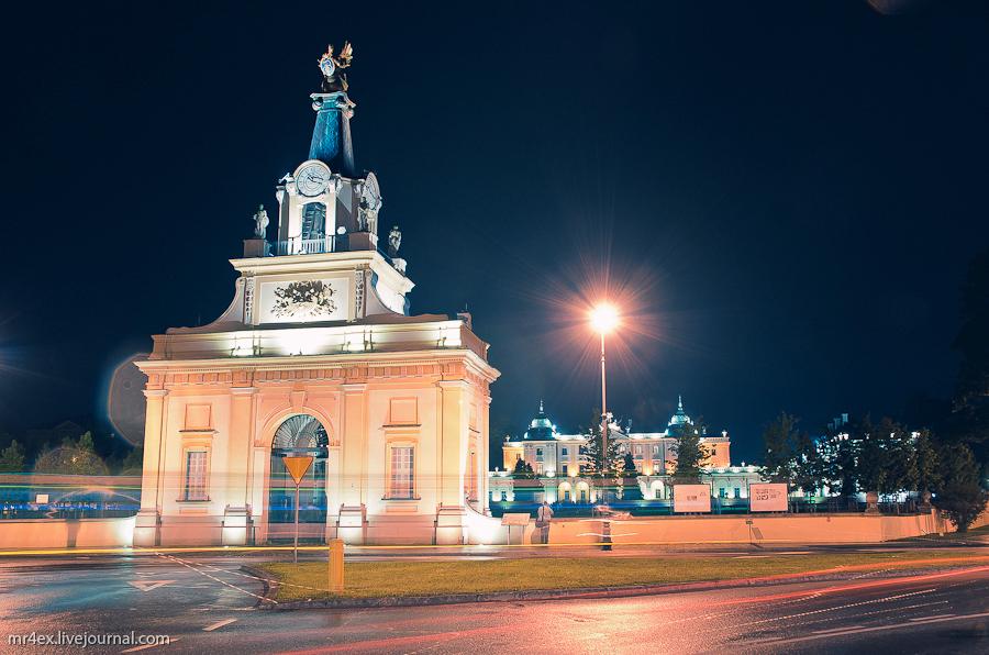 Польша, Белосток, Bilystok, Plac Branickich, Дворец Браницких