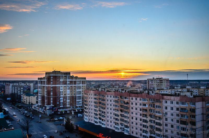Закат в Наро-Фоминске