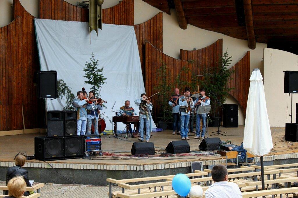 Концерт на Летней эстраде